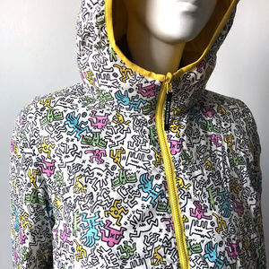 UNIQLO Keith Haring Reversible Down Puffer Jacket